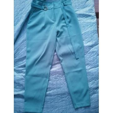 spodnie paperbag