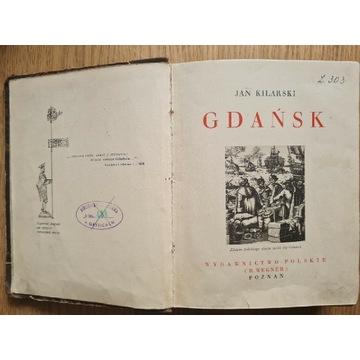 Jan Kilarski - Gdańsk; Cuda Polski 1933 oryginał