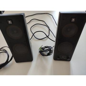 Głośniki Logitech X-140 S-0264B - sprawne