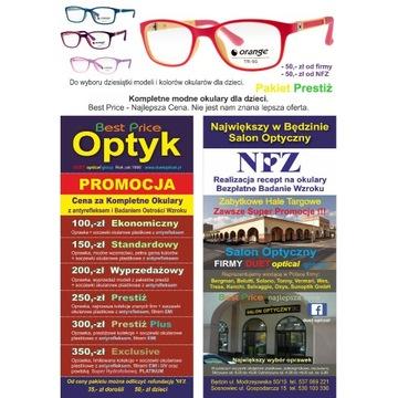 Oprawki, okulary dla dzieci.