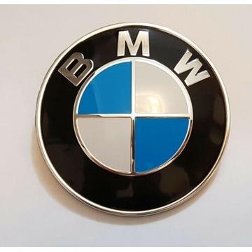 BMW znaczek emblemat logo 82 mm na maskę.Poznań