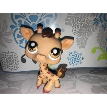 Littlest Pet Shop Żyrafa UNIKAT