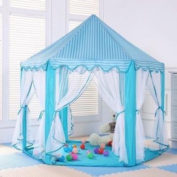 Namiot dla dzieci  PAŁAC do domu,ogrodu+200 piłek