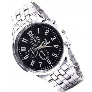 Efektowny zegarek męski LICYTACJA OD 1 ZŁ