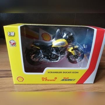 Motocykle Ducati z kolekcji Shell