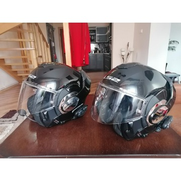 KASK MOTOCYKLOWY LS2 FF399 VALIANT MATT BLACK