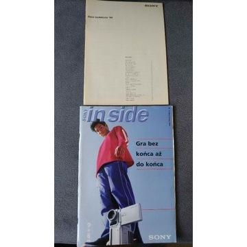 Katalog Sony 1999