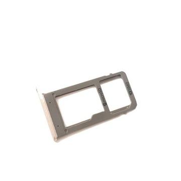 Tacka microSD SIM2 Samsung A5 A520 2017 Różowa