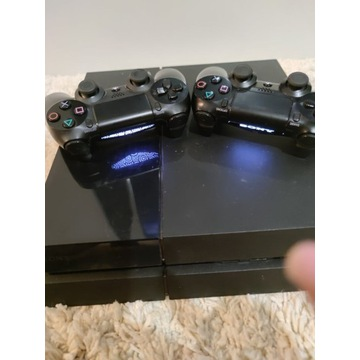 PS4 CUH-1116A + 2 Pady + 11 Gier PlayStation