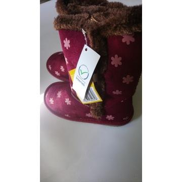 buty botki dziecięce t&r r. 32 ocieplane