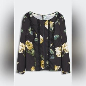 LIU JO bluzka kwiaty 669 zł 100% ORYG. r. 40/42