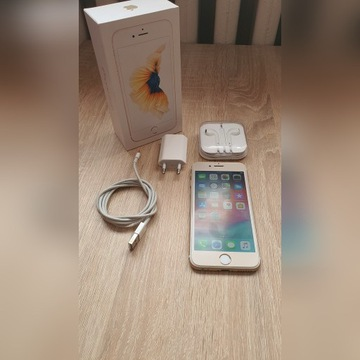 Iphone 6s 32gb zloty komplet