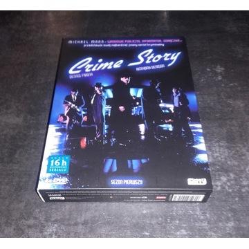 Crime Story Sezon 1 BOX 4xDVD Lektor PL