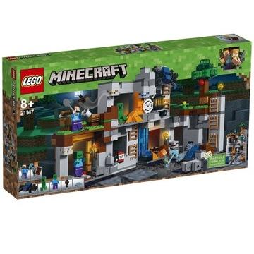LEGO Minecraft Przygody na skale 21147 Nowy