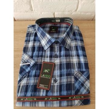 Laviino nowa koszula z krótkim rękawem L 41/42