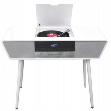 Gramofon Biały NR995 Bluetooth CD USB radio FM