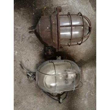 Stare lampy przemyslowe