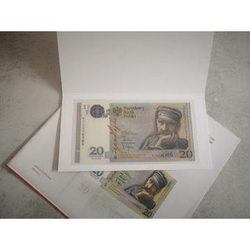 Banknot 20zł 2018r Niepodległość nr 8986