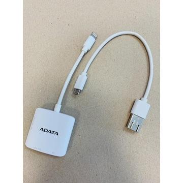 Czytnik SD/microSD ADATA AI910 Lightning do Apple