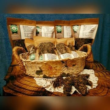 Herbata z konopi kwiaty, CBD, eko- certyfikat 100g