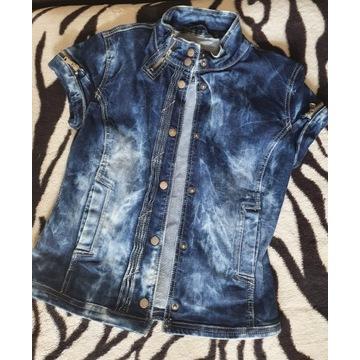 Kamizelka jeans rozm M