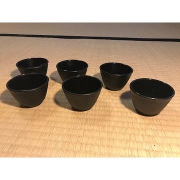 Zeliwne filizanki czareczki 100 ml DUKA 6 szt