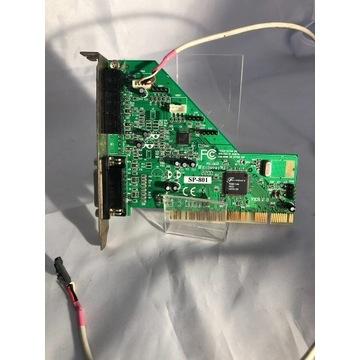 KARTA MUZYCZNA FORTEMEDIA SP-801 PCI FS-003 +kabel