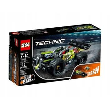 LEGO Technic Wyścigówka WHACK! 42072