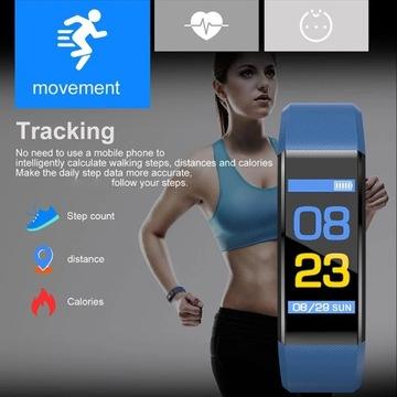 Smartband puls krokomierz ciśnienie kalorie od1zł