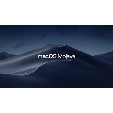 macOS Mojave 10.14 system pendrive instalka