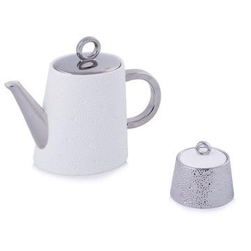 Dzbanek z cukiernicą HOME&YOU nowy zestaw herbata