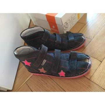 Danielki buty ortopedyczne sandały 32 zdrowa stopa