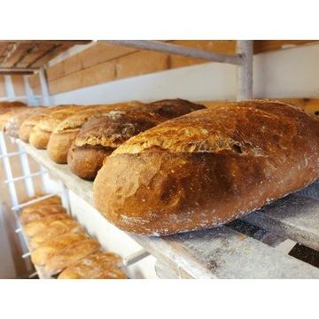 Chleb na zakwasie bez polepszaczy, dowóz pod drzwi