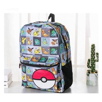 Pokemon Pikachu Poke Ball szkolna torba! OKAZJA!!!