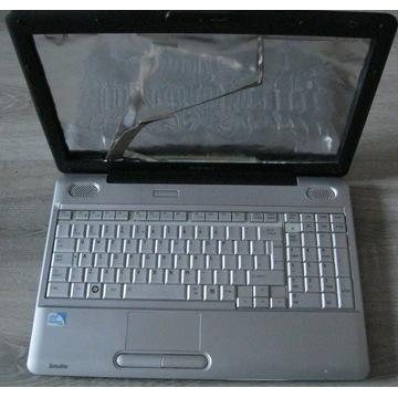 Toshiba L500 płyta + obudowa + inne SPRAWNY okazja