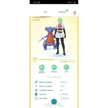 Konto Pokémon GO - 28 Poziom TANIO!!!!