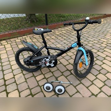 Rower 16 dla dziecka Btwin Pirabike Decathlon BONU