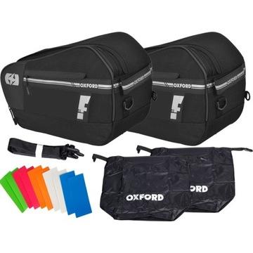 OXFORD F-1 OL445 sakwy motocyklowe torby 55L
