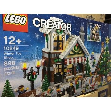 Lego 10249 zimowy sklep