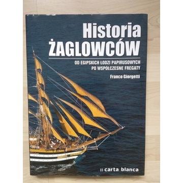 Historia żaglowców Franco Giorgetti Carta Blanca