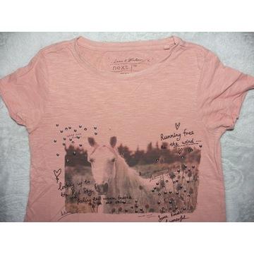 bluzka cekiny NEXT roz.134