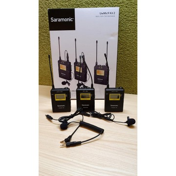 MEGA Zestaw Saramonic UWMIC9 RX9 + TX9 + TX9 +HU9