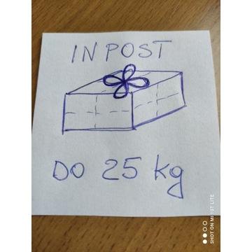 Przesyłka kurierska INPOST - paczka do 25 kg - kod