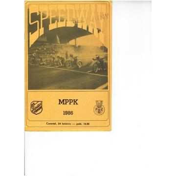 FINAŁ MPPK 1986 r  Torun