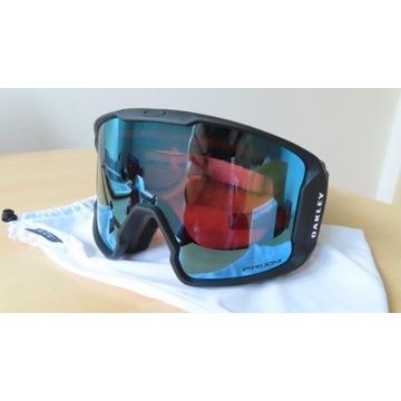 Gogle narciarskie Oakley Line Miner nowe