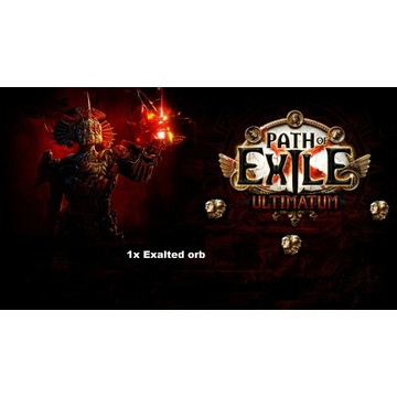 EXALTED ORB Path of Exile Ultimatum SC