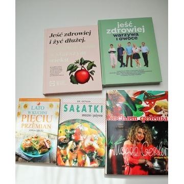 Książki kucharskie - Zestaw!