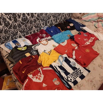 koszulki Bayern, Barcelona, Real okazja kolekcja