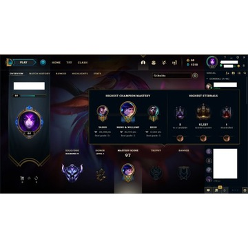 KONTO LEAGUE OF LEGENDS DIAMOND 4