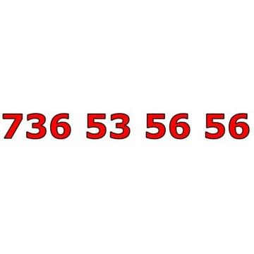 736 53 56 56 ŁATWY ZŁOTY NUMER STARTER